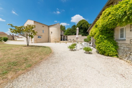 Rare Beautiful restored property.  One house plus 7 gites.  Fabulous business / Income  Heated pool.  No work to do.  Private and peaceful location.