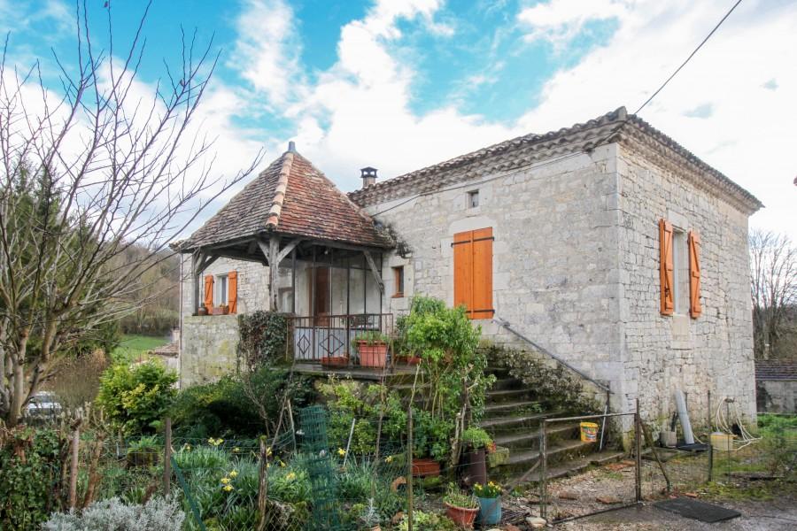 Maison à vendre à STE CROIX(46800) - Lot