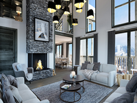 French ski chalets, properties in Courchevel, Courchevel - La Tania, Three Valleys