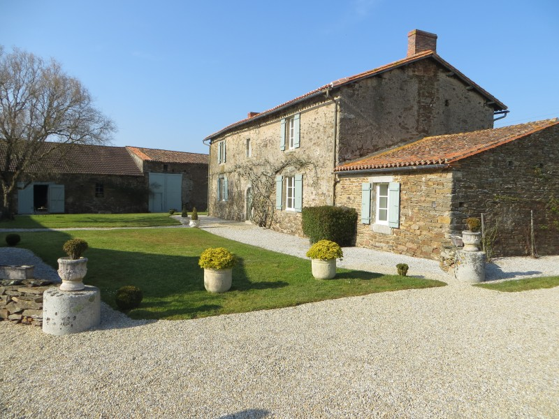 House for sale in ST FLORENT DES BOIS Vendee Magnificent 16th century maison de ma u00eetre in  # Maison Bois Vendee