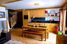 French ski chalets, properties in Bisanne 1500, Les Saisies, Espace Diamant