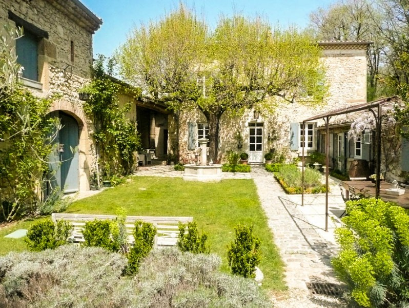 Maison vendre en rhone alpes drome crest belle demeure for Acheter une maison dans le sud de la france