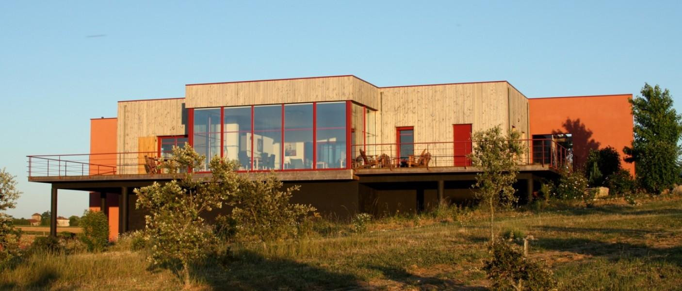 Maison vendre en aquitaine lot et garonne lusignan for Constructeur maison contemporaine lot et garonne