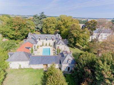 Impressive 17th And 19th Century Chateau Set In 12Ha Park With Heated Pool, Stables And Caretaker Accommodation