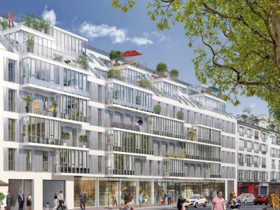 Between Boulevard St-Germain & the Seine River, luxury South-East facing 2 bedrooms property with parking space in a modern & stunning new development close to the river