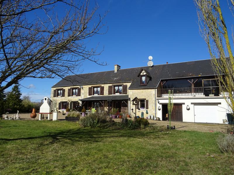 House for sale in BELFONDS - Orne - 4 acres. Fantastic property at ...