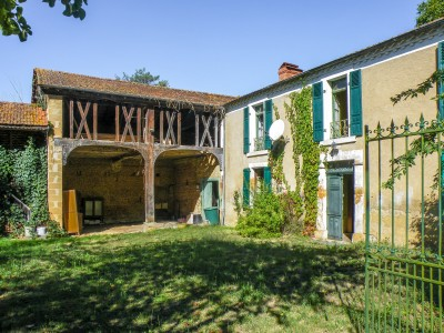 French property, houses and homes for sale in VILLECOMTAL SUR ARROS Gers Midi_Pyrenees