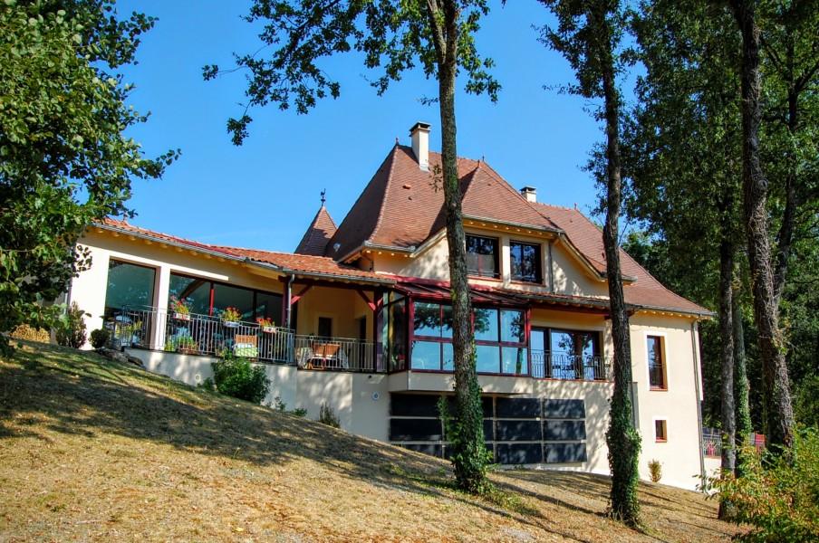 maison architecte a vendre dordogne