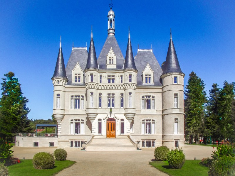 Chateau for sale in poitiers vienne magnificent for Vienne poitiers