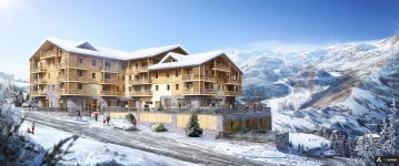 French ski chalets, properties in Les Menuires, Saint Martin de Belleville, Three Valleys