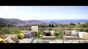 Nice - Gairaut Brand new luxury 3 bedroom apartments villa with breathtaking views across the bay of angels, garden 205m2, terrace 80m2