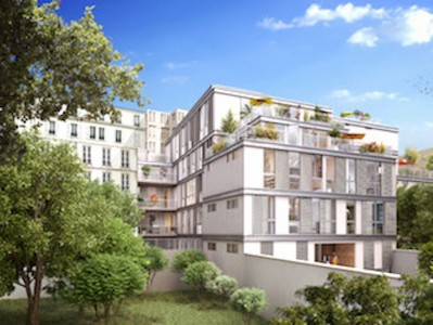PARIS 75005, at the heart of Paris Latin quarter, superb contemporary architecture for this 4th floor brand new one bedroom 44m2 apartment