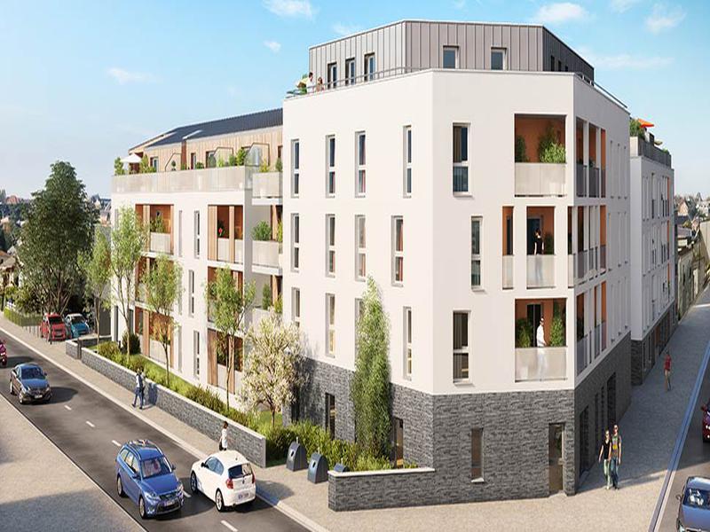 appartement vendre en pays de la loire loire atlantique nantes appartement de qualit 39. Black Bedroom Furniture Sets. Home Design Ideas