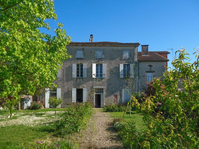 Maison vendre en aquitaine lot et garonne le temple - Jardin des nenuphars le temple sur lot ...