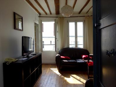 Very rare in the heart of Le Marais, superb 1 bedroom apartment of 33 sqm, calm and bright at 5th floor of an ancient building - Perfect for a pied à terre or investment