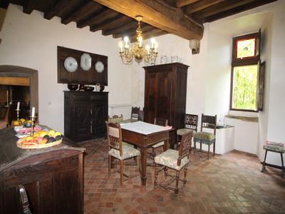 13th Century moated chateau with separate gites and woodland in the heart of the Mayenne
