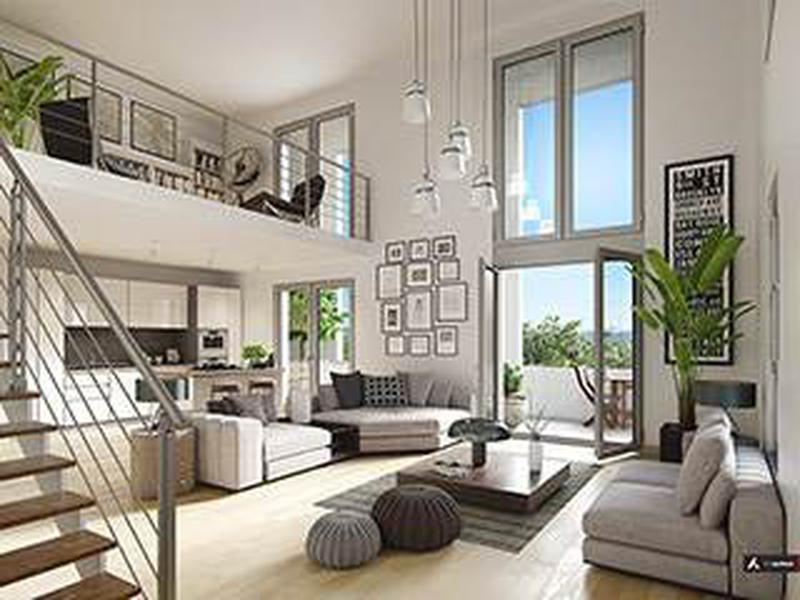 appartement vendre en rhone alpes rhone lyon t3 duplex neuf place jean jaur s proche part. Black Bedroom Furniture Sets. Home Design Ideas