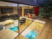 Paris 75009, découvrez ce magnifique appartement d'architecte plein sud de 199m² (T4) sur quatres niveaux avec sa piscine et SPA privé bordé d'un bel espace extérieur de 21,60m2, idéalement nichée à l'écart de l'animation urbaine