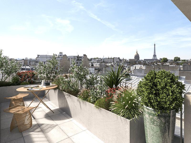 Appartement 4 pièces à vendre à PARIS VII (75007) -  Paris