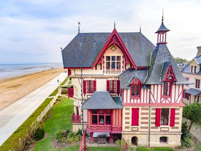 French property, houses and homes for sale in Lion sur Mer Calvados Normandy