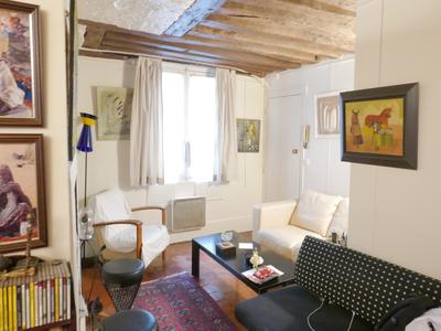 Paris 6th - 75006 - In the heart of St-Germain, superb Duplex - 2 bedroom apartment of 77 sqm, at the 3rd and 4th floor, providing confort, charm, and quietness at walking distance from Odeon, Bucci street, within this mythical and bubbling neighborhood with the most prestigious luxury boutiques, trendy bars and gourmet restaurants