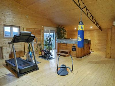 Reduced!- Beautiful property circa 12 acres with pool, gym, sauna, summer kitchen and outbuildings – views of the countryside