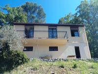 Bargemon villa de 3 chambres avec garage, terrain et vue sur le village.