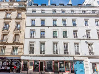 75003, peaceful environment in the sought after Republique district, bright 1st floor 109m2 three bedrooms South & West facing apartment (LOT 6) to renovate, at the heart of a well looked after 1880 stone building with elevator