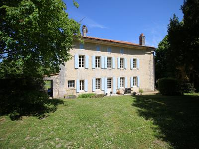 Turnkey Main House and 3 further fully Renovated Gites. Set in Private Hamlet. 2 Swimming Pools. Ideal Gites and Possible Wedding Venue. Stunning Views