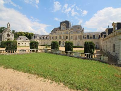 Grand Chateau with private airstrip in an estate of over 25 acres close to Angers in the Loire