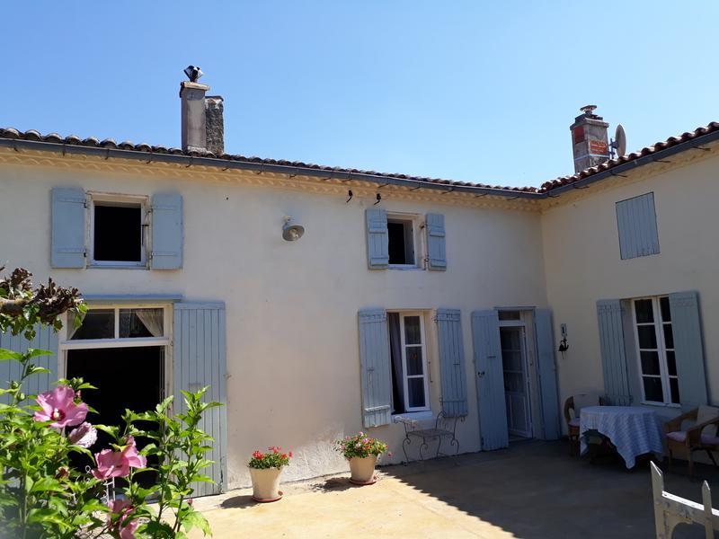 Maison à vendre à ST ANDRE DE LIDON(17260) - Charente Maritime