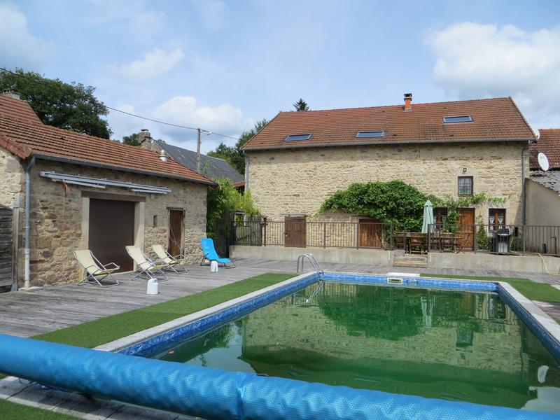 Maison à vendre à ST HILAIRE LE CHATEAU(23250) - Creuse