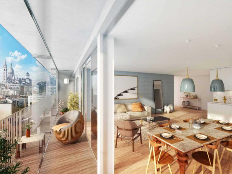 Appartement 5 pièces à vendre à PARIS XVIII (75018) -  Paris