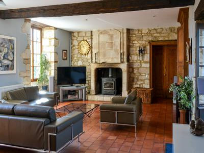 A charming historical chateau from the 12th century, thoroughly modernised, able to be a superb home for family and friends in the middle of a wonderful region of France, close to flights and renowned cities, towns and villages.