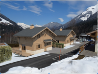 French ski chalets, properties in , Les Contamines, Domaine Evasion Mont Blanc