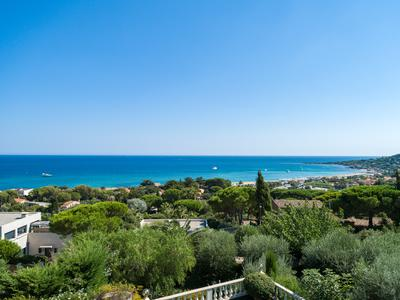 St Maxime-Stunning villa with pool and simply breathtaking 180 degree sea views.