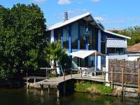 Rare et inhabituel : maison de pêcheur avec ponton privé menant à l'Etang de Thau