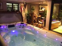 - Large swim spa