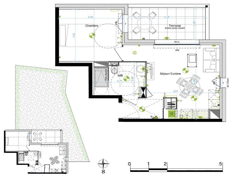 Appartement 2 pièces à vendre à LA GARDE (83130) -  Var