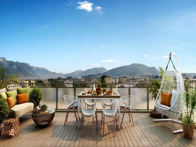 Appartement 3 pièces à vendre à ANNECY (74000) -  Haute Savoie