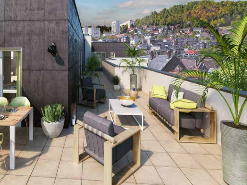 Appartement 4 pièces à vendre à ROUEN (76000) -  Seine Maritime