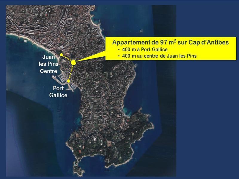 Appartement 4 pièces à vendre à ANTIBES (06160) -  Alpes Maritimes