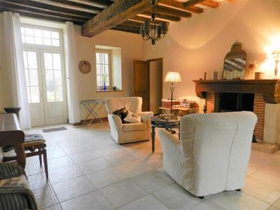 Stunning 18th century Maison de maitre in immaculate condition. Four bedrooms, lakeside and with it's own park