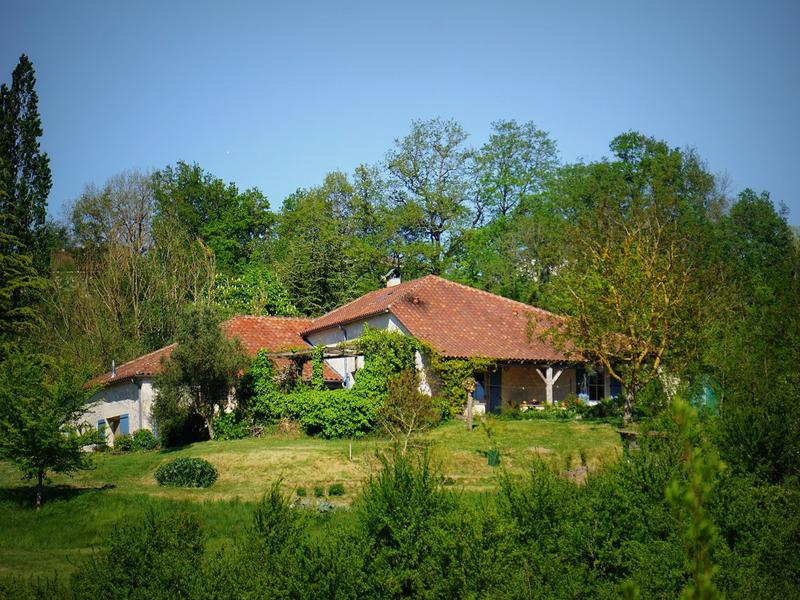 Maison à vendre à CASTELNAUD DE GRATECAMBE(47290) - Lot et Garonne