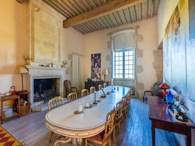 Outstanding Gascony Château with 141 acres of land including 35 acres of vines, successful wedding venue and cottage rental businesses, magnificent location with much further potential