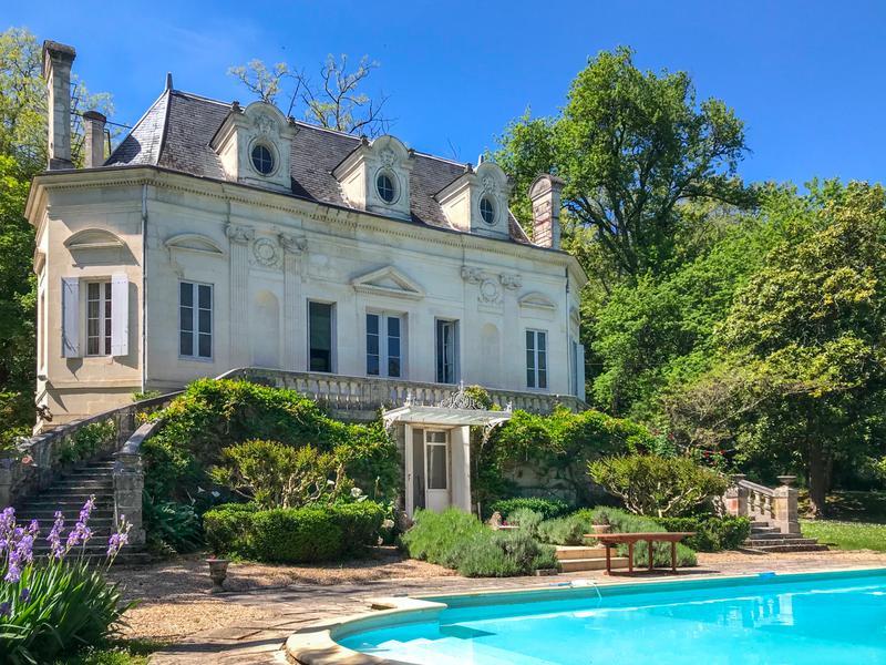 Chateau à vendre à COUTRAS(33230) - Gironde
