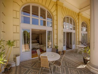 Two adjoining Royal Palace apartments for sale in the heart of Aix-les-Bains, the riviera of the Alps.