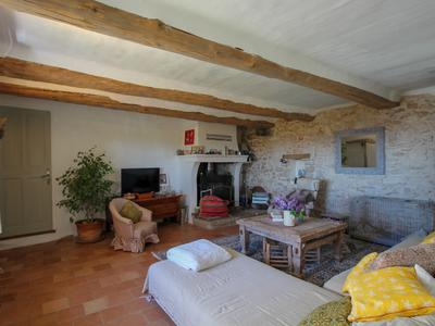 Close to Montbrun Les Bains, listed Village, Superb Mas in the Lavender fields, entirely renovated with panoramic views over the Mont Ventoux and the Plateau d'Albion