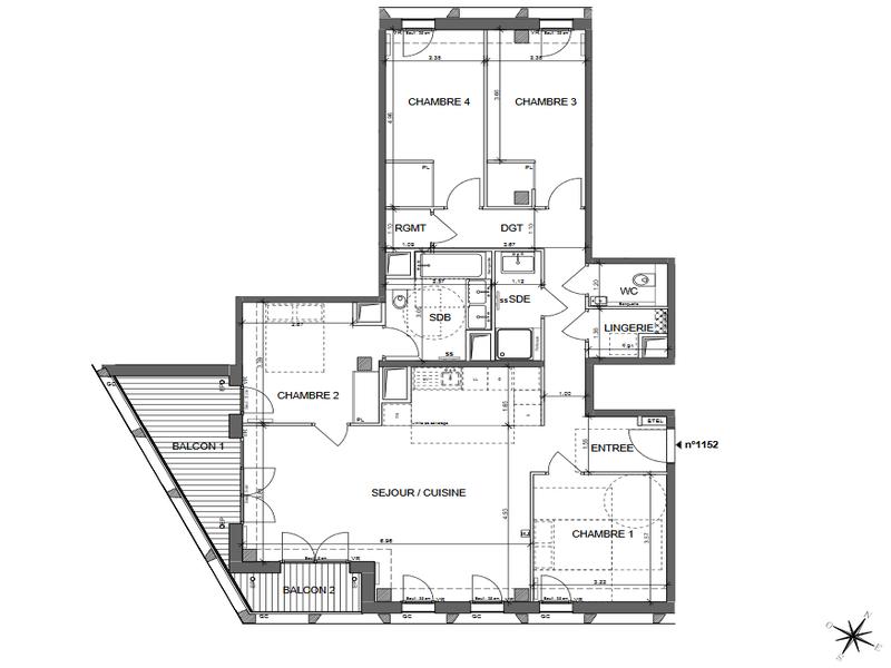 Appartement 8 pièces à vendre à PARIS XIII (75013) -  Paris