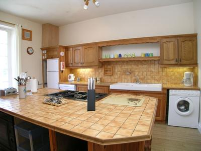 Large, 6 bedroomed character house, modernised, with 4 rental cottages in the grounds. Not overlooked with fields surrounding the property.